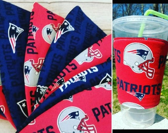 Patriots Coffee Cup Cozy