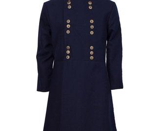 Children's Navy Civil War Frock Coat