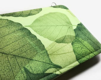 kindle paperwhite case kindle case kindle cover kindle paperwhite cover Green Leaf