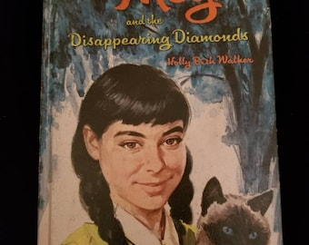 Vintage Meg and the Disappearing Diamonds by Holly Beth Walker 1969