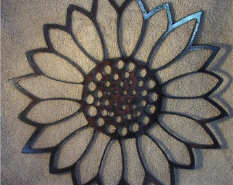 Giant Sunflower- Metal Art