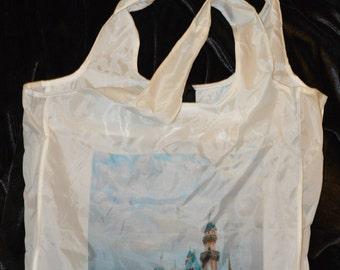 Reusable castle 60th anniversary bag