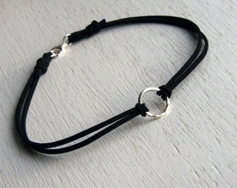 Twist Karma Circle Choker (many cord colors to choose)