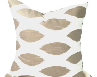 Tan PILLOW Covers.Pillow Cover, Decorative Pillow, Throw Pillow, Tan Pillows, Accent Pillow, Neutral Pillow Covers, Euro Pillow, Cushion
