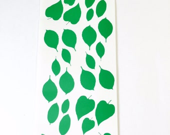 Peel and Stick Vinyl Leaves for your DIY Projects