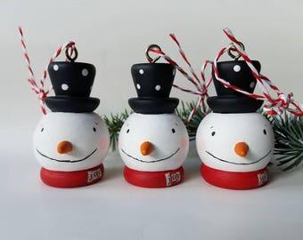 christmas cheer...ornament...snowman joy
