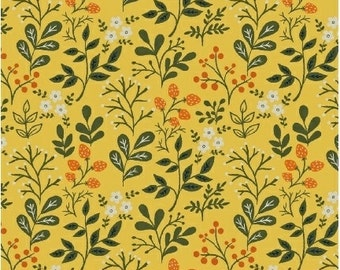 Berries in Sunshine from the Gardening Collection by Dinara Mirtalipova for Windham Fabrics