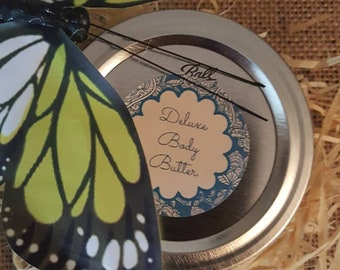 Deluxe Body Butter with Pharamones and Organic Ylang Ylang Essential Oil