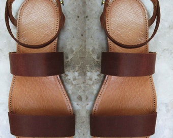 Sandals Womens,Womens  Sandals,Leather Sandals, Greek Sandals, Handmade Sandals,Brown  Sandals,Greek Leather Santals,Strappy Santals,MYKONOS