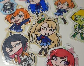 Anime keychain
