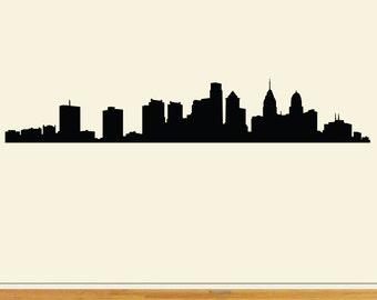 Philadelphia skyline vector file