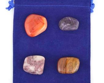 Heal Depression Healing Stone Set - B