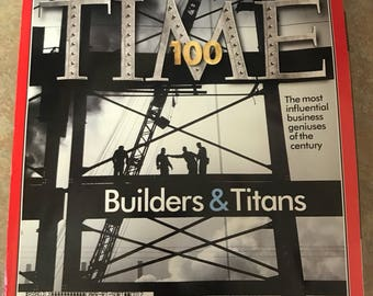 Time Magazine- Builders and Titans 1998