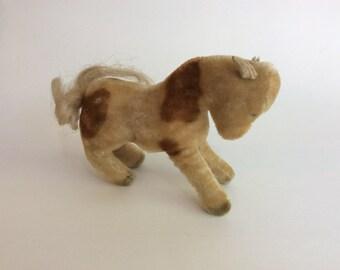 Vintage Steif Mohair Pony, Germany, 1950's