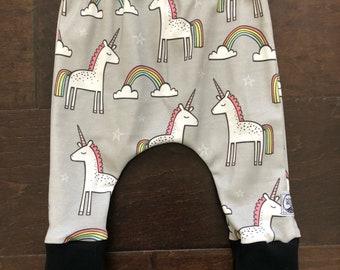 Organic  Grey Unicorns