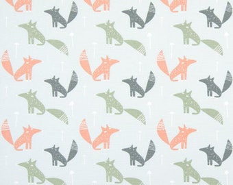 "Premier Prints Fabric-WILD THING-Peach-54"" wide-Premier Prints Fabric By The yard-decorator fabric"