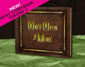 Henry's Once Upon A Time Storybook (inspired) - Volume 3 - Full size - Made To Order