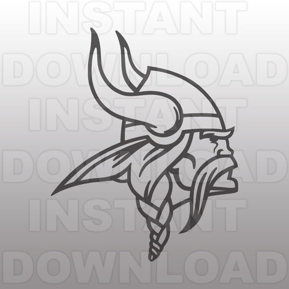 Viking Mascot Svg File Cutting File Clip Art For Commercial