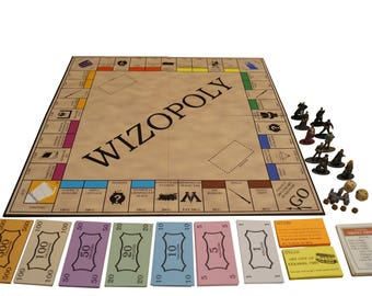 Harry Potter Monopoly (Wizopoly)