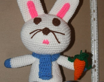 White Crocheted Bunny