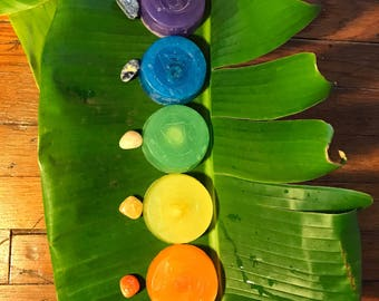 7 Chakra Soap Set