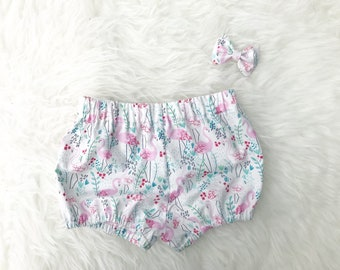 Bloomer girl shorts / / Flamingo Pink