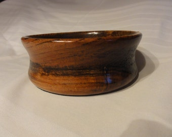 Hand Made Wood Bowl With Salad Bowl Finish