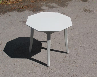 Hand-Painted Vintage Side Table