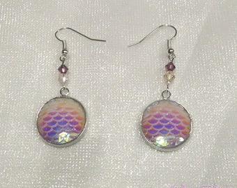 """Earrings """"Mermaid scales"""""""
