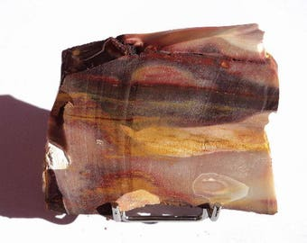 Jasper Mookaite, mineral collection, 80 x 70 x 13 mm