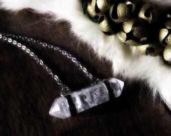 Captured Quartz Amulet - Witchcraft ~ Talisman ~ Amulet ~ Pagan ~ Paganism ~ Pagans ~