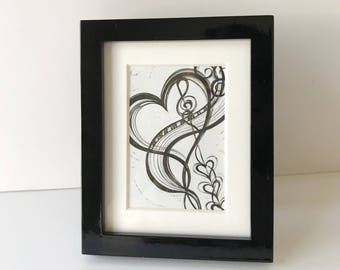 From the Bottom of His Heart Mini Frame