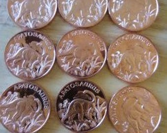 One Ounce Copper Rounds