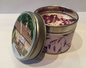 Lavender Candle.
