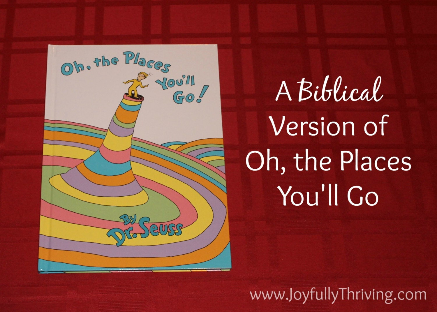 Customized Biblical Version of Oh the Places You\'ll Go by