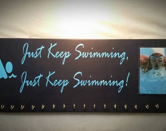 Swim Medal Holders, Medal Holders, Swimmer Plaques, Swimmers, Medals, Swimming Signs, Fathers Day Gift
