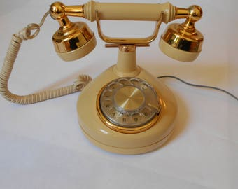 Vintage Western Electric Celebrity French Style Rotary Telephone Working