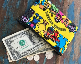 small cell phone change purse Sesame Street