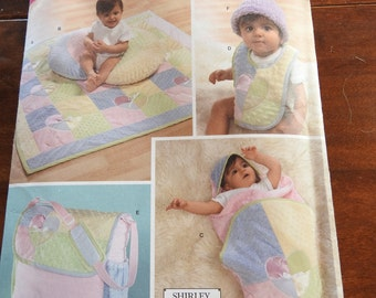 Simplicity 4202 Baby Accessories Sewing Pattern