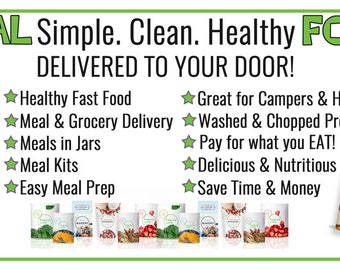 Thrive Life Real Food Banner 2.5 by 6 Design