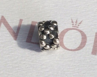 Authentic Pandora Sterling Silver DNA Charm #790129 ALE 925  Pre Loved Condition