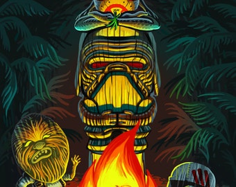 Tiki Star Wars Savages