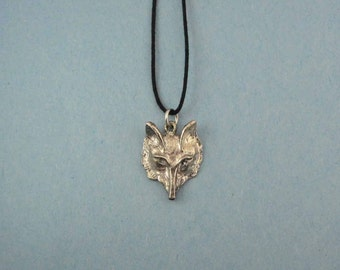 Fox Jewelry Necklace - Fox Charm Necklace - Adjustable Men's Necklace -  Men's Fox Gift - Plus Size Fox Necklace - Fox Charm - Hunter Gift