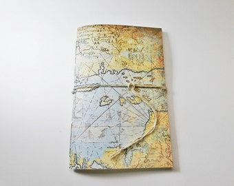 School Planner | Pretty Agenda | Weekly Planner | Calendar | College Planner | Cute Date Book | Handmade Planner | Map Cover| Undated