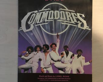 The Commodores, Still, Words and Music by Lionel Richie, 1979 Sheet Music