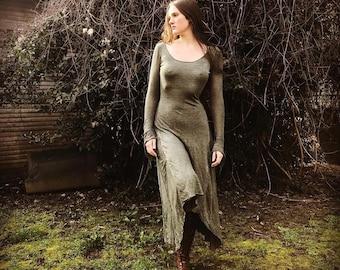 Greenwood Linen Knit Pocket Dress
