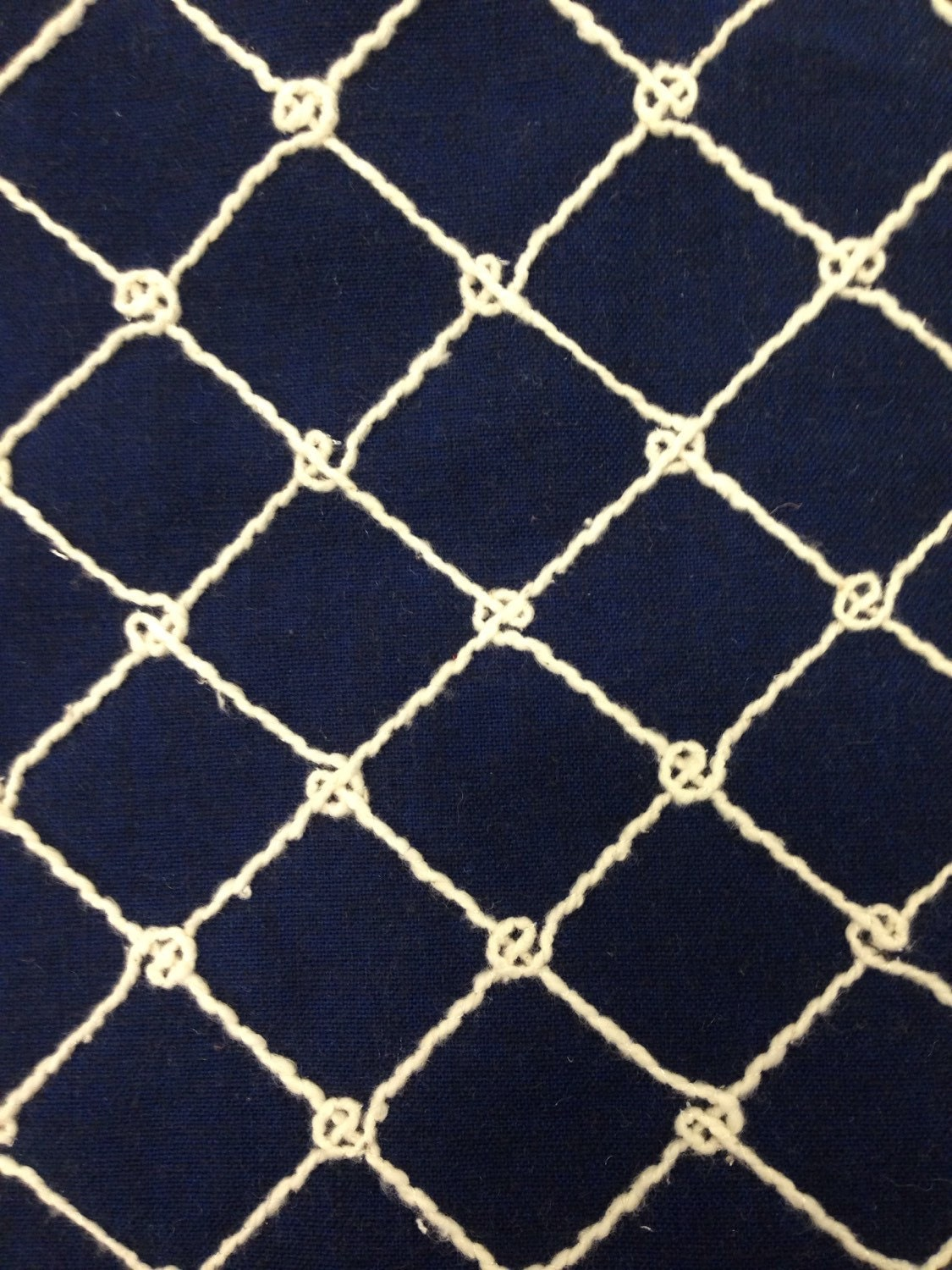 home decor fabrics by the yard.  zoom Navy Nautical Rope Upholstery Fabric By The Yard Coastal