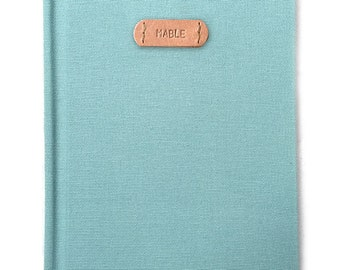 compañero de trabajo, cuaderno personalizado, regalos de Navidad para amigos, regalo de estudiante de colegio, cuaderno personalizado, personalizado diario, diario