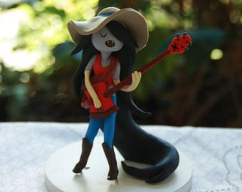 Marceline Vampire Queen Inspired  Adventure Time Personalised Handmade. Fully customizable. Made to order Ice King Princess