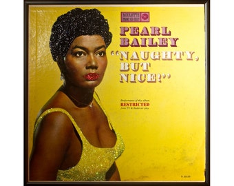 Glittered Pearl Bailey Naughty But Nice Album